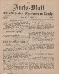Amts-Blatt der Königlichen Regierung zu Danzig, 27. November 1880, Nr. 48