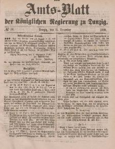 Amts-Blatt der Königlichen Regierung zu Danzig, 11. Dezember 1880, Nr. 50