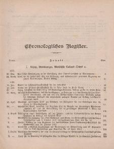 Amts-Blatt der Königlichen Regierung zu Danzig Jahrgang 1880 (Chronologisches Register)