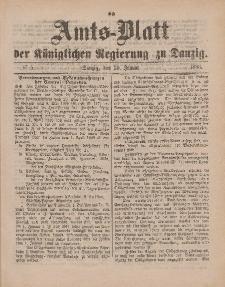Amts-Blatt der Königlichen Regierung zu Danzig, 30. Januar 1886, Nr. 5