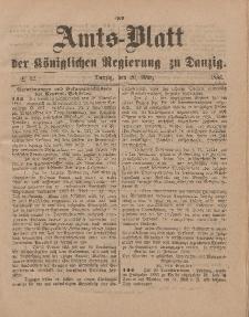 Amts-Blatt der Königlichen Regierung zu Danzig, 20. März 1886, Nr. 12