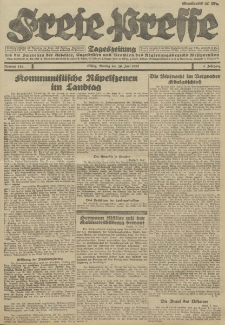 Freie Presse, Nr. 134 Montag 11. Juni 1928 4. Jahrgang