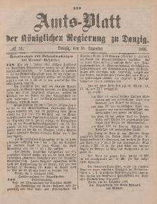 Amts-Blatt der Königlichen Regierung zu Danzig, 18. Dezember 1886, Nr. 51