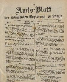 Amts-Blatt der Königlichen Regierung zu Danzig, 25. Februar 1888, Nr. 8