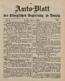 Amts-Blatt der Königlichen Regierung zu Danzig, 31. März 1888, Nr. 13