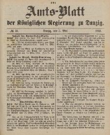 Amts-Blatt der Königlichen Regierung zu Danzig, 5. Mai 1888, Nr. 18