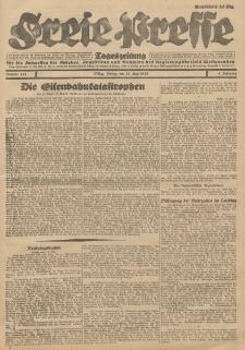 Freie Presse, Nr. 139 Sonnabend 16. Juni 1928 4. Jahrgang
