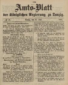 Amts-Blatt der Königlichen Regierung zu Danzig, 30. Juni 1888, Nr. 26