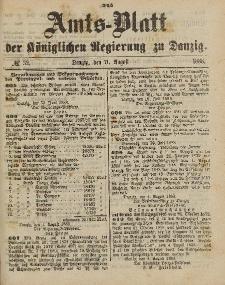 Amts-Blatt der Königlichen Regierung zu Danzig, 11. August 1888, Nr. 32