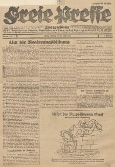 Freie Presse, Nr. 140 Montag 18. Juni 1928 4. Jahrgang