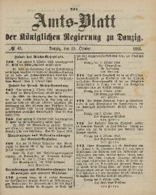 Amts-Blatt der Königlichen Regierung zu Danzig, 20. Oktober 1888, Nr. 42