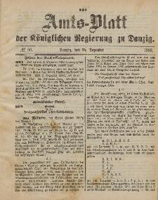 Amts-Blatt der Königlichen Regierung zu Danzig, 15. Dezember 1888, Nr. 50