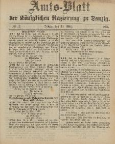 Amts-Blatt der Königlichen Regierung zu Danzig, 30. März 1889, Nr. 13