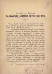 Żaglowym jachtem przez Bałtyk. Wyd. 2.
