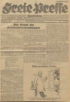 Freie Presse, Nr. 149 Donnerstag 28. Juni 1928 4. Jahrgang