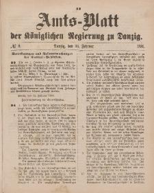 Amts-Blatt der Königlichen Regierung zu Danzig, 26. Februar 1881, Nr. 9
