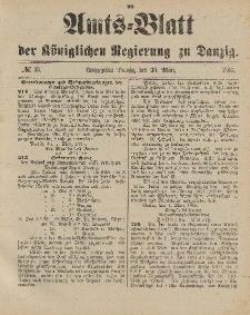 Amts-Blatt der Königlichen Regierung zu Danzig, 30. März 1895, Nr. 13