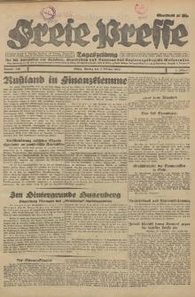 Freie Presse, Nr. 230 Montag 1. Oktober 1928 4. Jahrgang