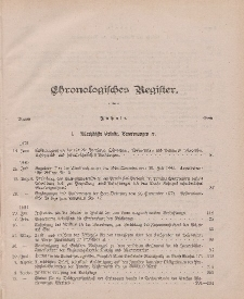 Amts-Blatt der Königlichen Regierung zu Danzig pro 1881 (Chronologisches Register)