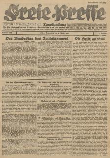 Freie Presse, Nr. 233 Donnerstag 4. Oktober 1928 4. Jahrgang