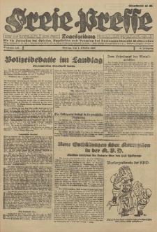 Freie Presse, Nr. 234 Freitag 5. Oktober 1928 4. Jahrgang