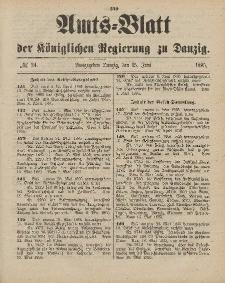 Amts-Blatt der Königlichen Regierung zu Danzig, 15. Juni 1895, Nr. 24