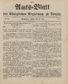 Amts-Blatt der Königlichen Regierung zu Danzig, 27. Juli 1895, Nr. 30