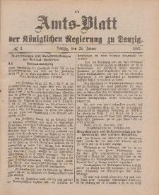 Amts-Blatt der Königlichen Regierung zu Danzig, 22. Januar 1887, Nr. 3