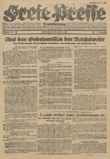 Freie Presse, Nr. 238 Mittwoch 10. Oktober 1928 4. Jahrgang
