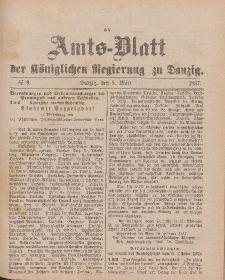 Amts-Blatt der Königlichen Regierung zu Danzig, 5. März 1887, Nr. 9