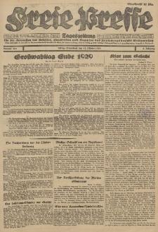 Freie Presse, Nr. 240 Freitag 12. Oktober 1928 4. Jahrgang