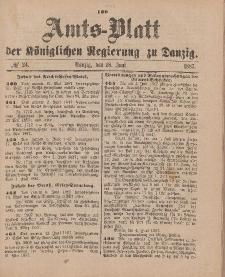 Amts-Blatt der Königlichen Regierung zu Danzig, 18. Juni 1887, Nr. 24