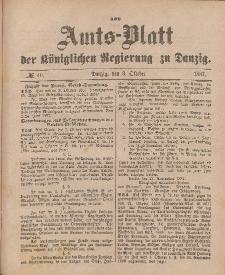 Amts-Blatt der Königlichen Regierung zu Danzig, 8. Oktober 1887, Nr. 40