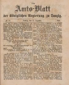 Amts-Blatt der Königlichen Regierung zu Danzig, 17. Dezember 1887, Nr. 50