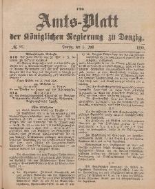 Amts-Blatt der Königlichen Regierung zu Danzig, 5. Juli 1890, Nr. 27