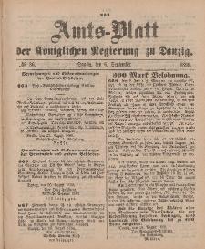Amts-Blatt der Königlichen Regierung zu Danzig, 6. September 1890, Nr. 36