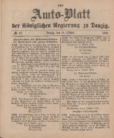 Amts-Blatt der Königlichen Regierung zu Danzig, 18. Oktober 1890, Nr. 42