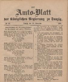 Amts-Blatt der Königlichen Regierung zu Danzig, 29. November 1890, Nr. 48