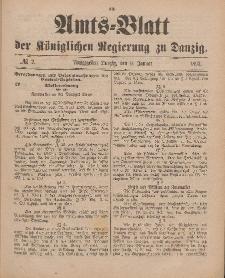 Amts-Blatt der Königlichen Regierung zu Danzig, 9. Januar 1897, Nr. 2