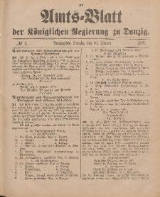 Amts-Blatt der Königlichen Regierung zu Danzig, 16. Januar 1897, Nr. 3