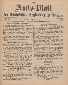 Amts-Blatt der Königlichen Regierung zu Danzig, 28. März 1891, Nr. 13