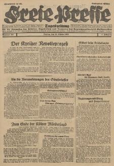 Freie Presse, Nr. 252 Freitag 26. Oktober 1928 4. Jahrgang