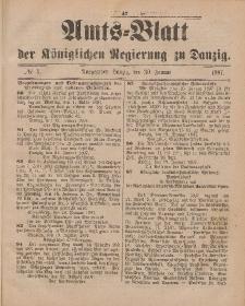 Amts-Blatt der Königlichen Regierung zu Danzig, 30. Januar 1897, Nr. 5