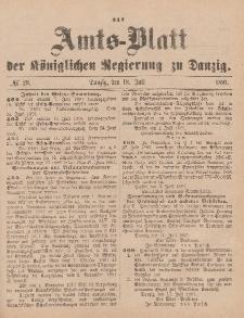 Amts-Blatt der Königlichen Regierung zu Danzig, 18. Juli 1891, Nr. 29