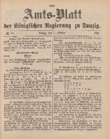 Amts-Blatt der Königlichen Regierung zu Danzig, 3. Oktober 1891, Nr. 40
