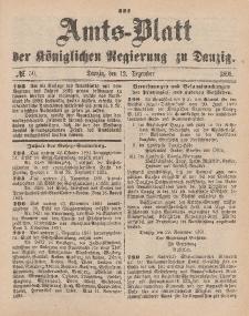 Amts-Blatt der Königlichen Regierung zu Danzig, 12. Dezember 1891, Nr. 50
