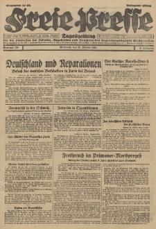 Freie Presse, Nr. 256 Mittwoch 31. Oktober 1928 4. Jahrgang