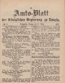 Amts-Blatt der Königlichen Regierung zu Danzig, 12. März 1892, Nr. 11