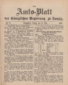 Amts-Blatt der Königlichen Regierung zu Danzig, 28. Mai 1892, Nr. 22
