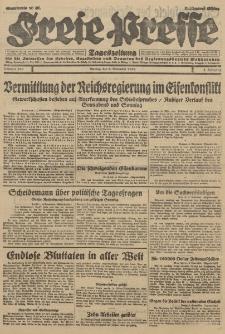 Freie Presse, Nr. 260 Montag 5. November 1928 4. Jahrgang